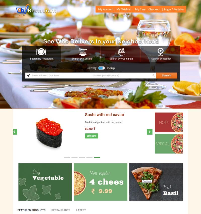 Online Food Ordering: Online Food Ordering Management ...