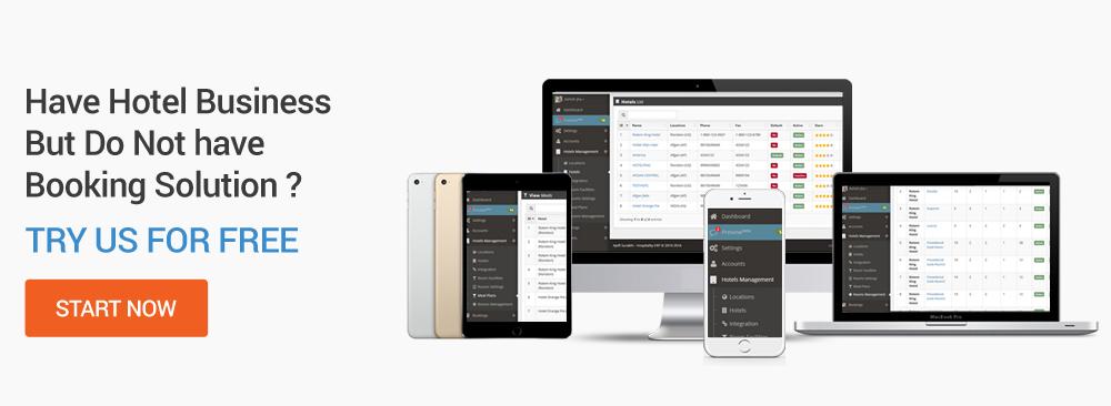 Hotel portal software