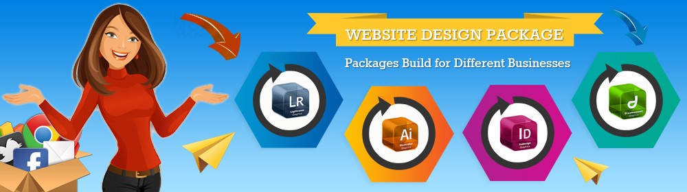 Professional Website Design Packages At Affordable Pricing In India